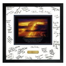 Power of Attitude Framed Signature Motivational Poster (700365) - $139.99