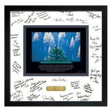 Essence of Leadership Framed Signature Motivational Poster Admin Gift