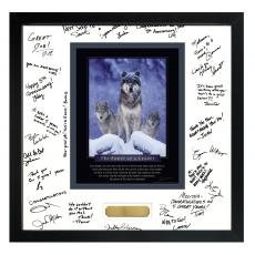 Power of A Leader Framed Signature Motivational Poster (700364) - $139.99
