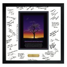 Essence of A New Day Framed Signature Motivational Poster Admin Gift