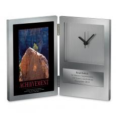 Engraved Clock Awards - Achievement Tree Desk Clock