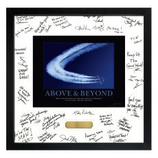 Signature Frames - Above & Beyond Jets Framed Signature Motivational Poster