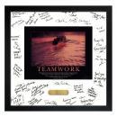 Teamwork Rowers Framed Signature Motivational Poster