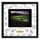 Excellence Golf Framed Signature Motivational Poster