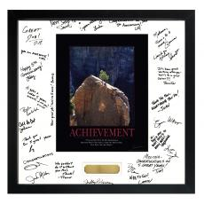Signature Frames - Achievement Tree Framed Signature Motivational Poster