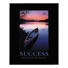 Success Canoe Motivational Poster
