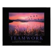 Teamwork Framed Motivational Print <span>(732272)</span> Classic Poster (732272), Motivational Posters