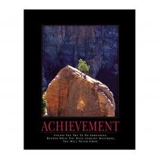 Achievement Tree Motivational Poster