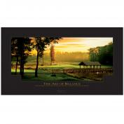 The Art of Balance Golf Unframed Motivational Poster