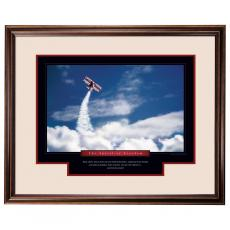 Spirit of Freedom Motivational Framed Poster