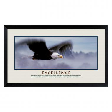 Successories Excellence Eagle Motivational Poster