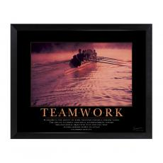 All Motivational Posters - Teamwork Rowers Mini Motivational Poster