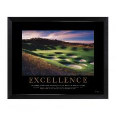 All Motivational Posters - Excellence Golf Mini Motivational Poster