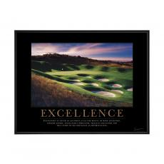 Excellence Golf Mini Motivational Poster <span>(732804)</span> (732804)