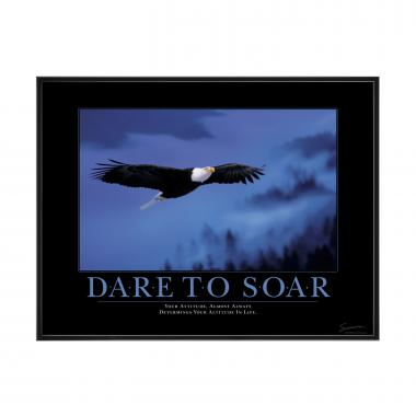 Dare to Soar Mini Motivational Poster
