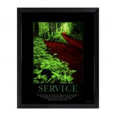 Mini Motivational Posters - Service Path Mini Motivational Poster