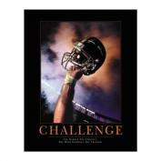 Challenge Football Motivational Print