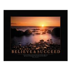 All Motivational Posters - Believe & Succeed Motivational Poster