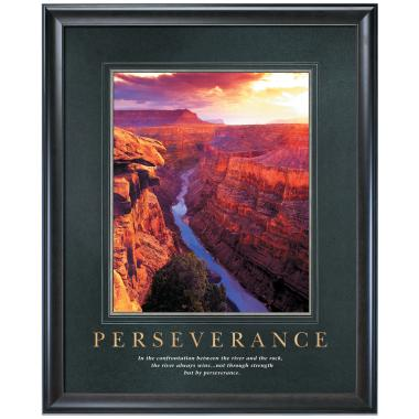 Perseverance Motivational Poster