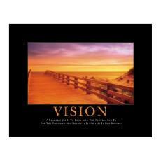 Classic Motivational Posters - Vision Boardwalk Motivational Poster