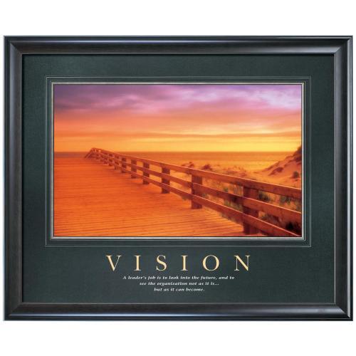 Vision Boardwalk Motivational Poster
