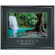 Change Forest Falls Motivational Poster Classic (733185)