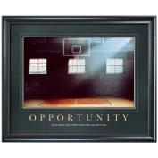 Opportunity Basketball Motivational Poster <span>(733294)</span> Classic (733294), Motivational Posters