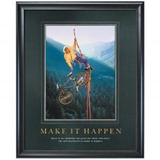Make It Happen Climber Motivational Poster