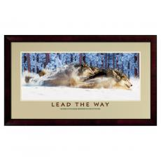 Lead The Way Framed Motivational Poster