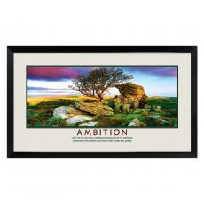 Lifescapes - Ambition Motivational Poster