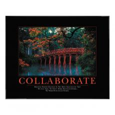 Classic Motivational Posters - Collaborate Motivational Poster