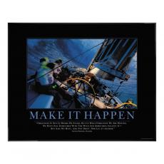 All Motivational Posters - Make It Happen Motivational Poster