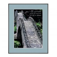 Cobbled Pathway Framed Motivational Poster