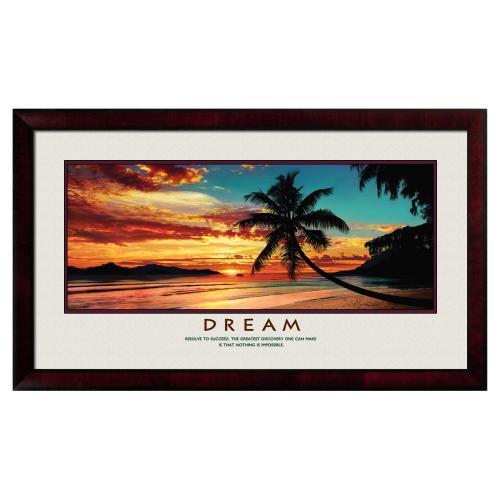 Dream Beach Motivational Poster