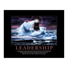 Classic Motivational Posters - Leadership Lighthouse Motivational Poster