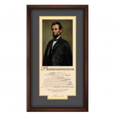 Great Leaders - Lincoln Perseverance Motivational Poster