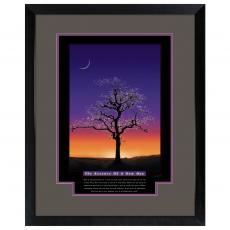 The Essence of A New Day Framed Motivational Poster