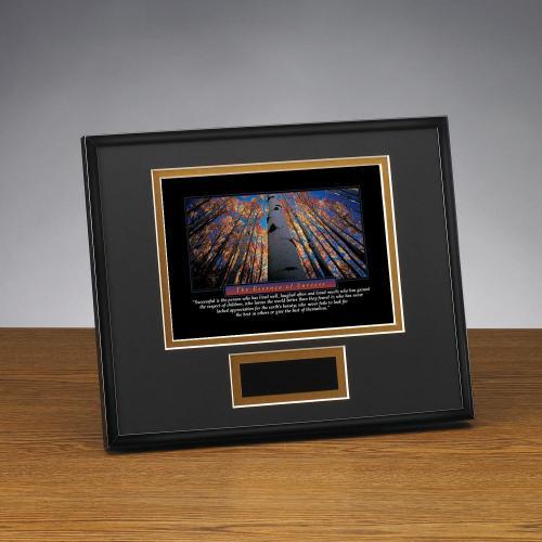 Essence of Success Framed Award