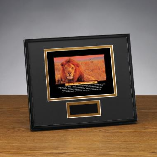 Essence of Survival Framed Award