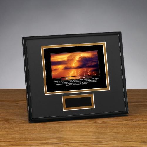 Power of Attitude Framed Award