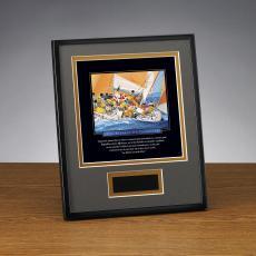 Framed Award - Essence of Teamwork Framed Award