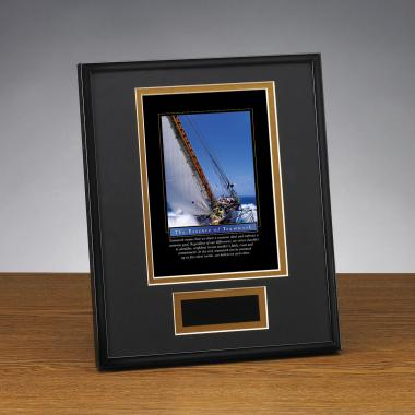 Essence of Teamwork Framed Award