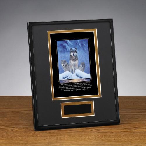 Power of A Leader Framed Award