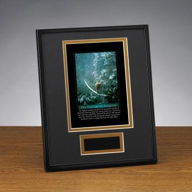 Courage of Integrity Framed Award