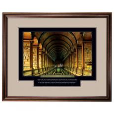 Power of Knowledge Motivational Framed Poster