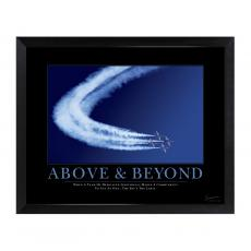 All Motivational Posters - Above & Beyond Jets Mini Motivational Poster