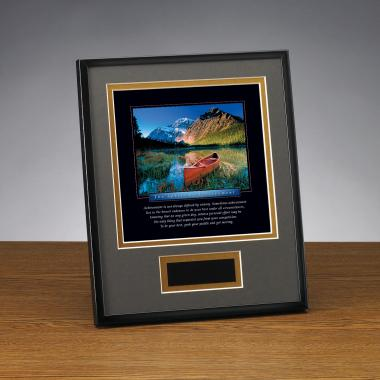 Spirit of Achievement Framed Award