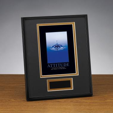 Attitude Drop Framed Award