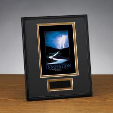Innovation Lightning Framed Award