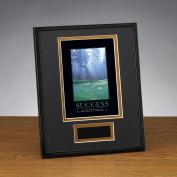 Success Morning Green Framed Award
